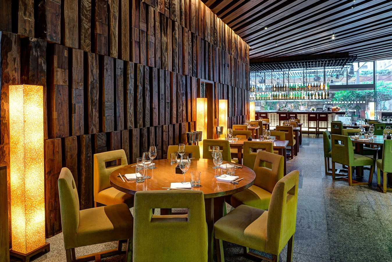 contemporary japanese restaurant zuma - HD1348×900